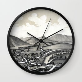 Glendale-Massachusetts-1890 Wall Clock