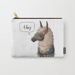 Bohemian Llama (II) Carry-All Pouch
