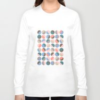 pills Long Sleeve T-shirts featuring Serenity pills by Alexandra Aguilar
