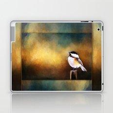 Chickadee in Morning Prayer Laptop & iPad Skin