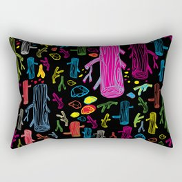 Elements of color Rectangular Pillow