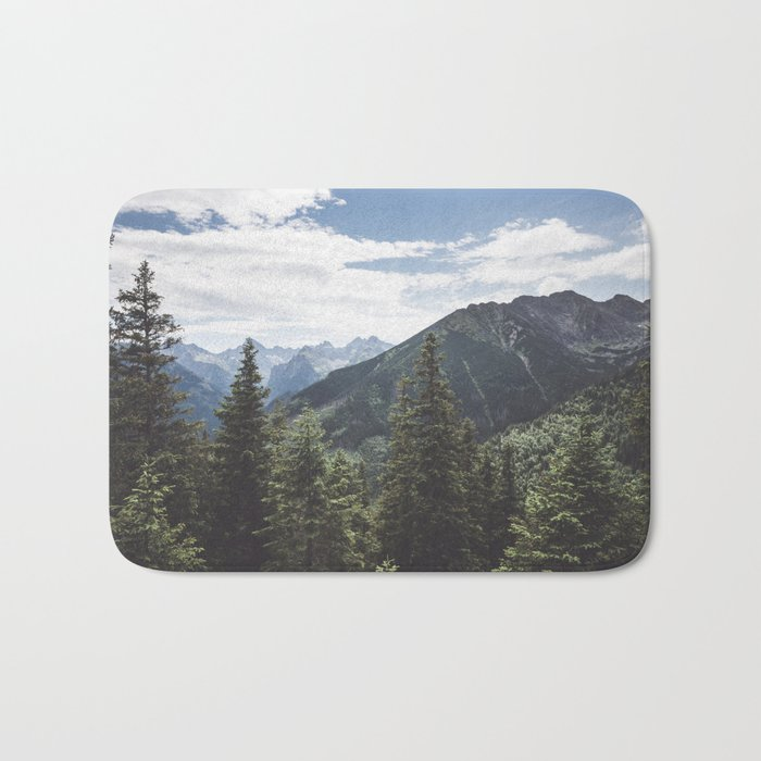 Tatra Mountains Bath Mat