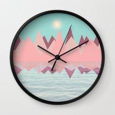 Spring Landscape II Wall Clock