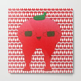 Watermelon blodbaby Metal Print