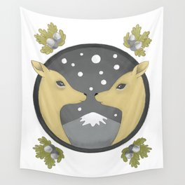 deer couple Wall Tapestry