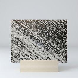 Black & White Swirls Mini Art Print