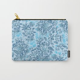 Flower Style Pattern XXXVII Carry-All Pouch