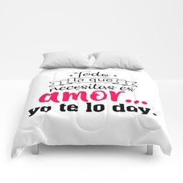 Todo lo que necesitas Comforters