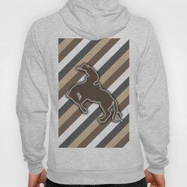 Cowboy Rodeo Bucking Horse Design Hoody