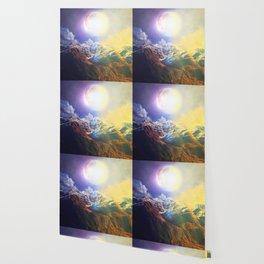 Burning Moon Wallpaper
