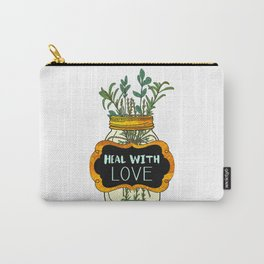 Heal With Love Carry-All Pouch