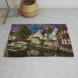Canal of Bruges Rug