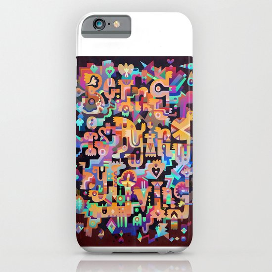 Silent Words iPhone & iPod Case