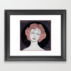 Breakfast on Pluto Framed Art Print