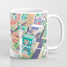 Vector Tropics Coffee Mug