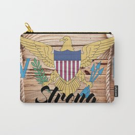 Virgin Islands Strong Carry-All Pouch