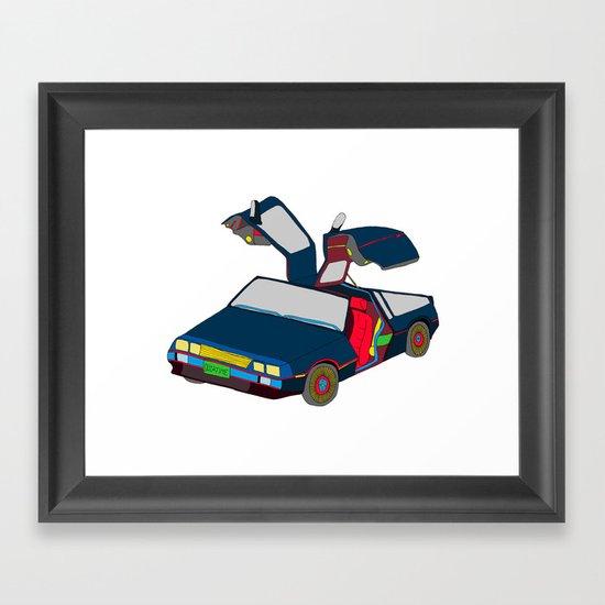 Cool Boys Like Flying Cars Framed Art Print