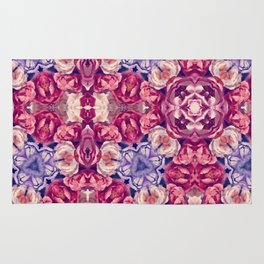 berry floral Rug
