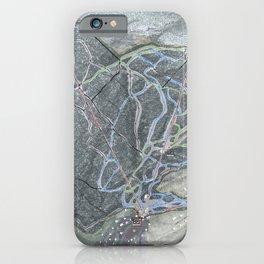 Mad River Glen Resort Trail Map iPhone Case