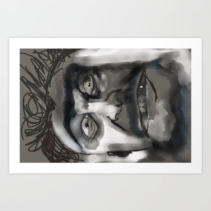 the executioner Art Print