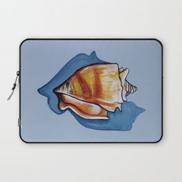 Shell One in Blue Laptop Sleeve