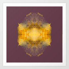 Energy burst Art Print