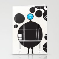 robot Stationery Cards featuring robot by alex eben meyer