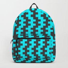 Stripe Dancer Turquoise Backpack