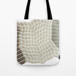 Wicker waves Tote Bag