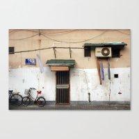 china Canvas Prints featuring CHINA by Sara Ahlgren