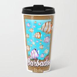 Barbados by air Travel Mug