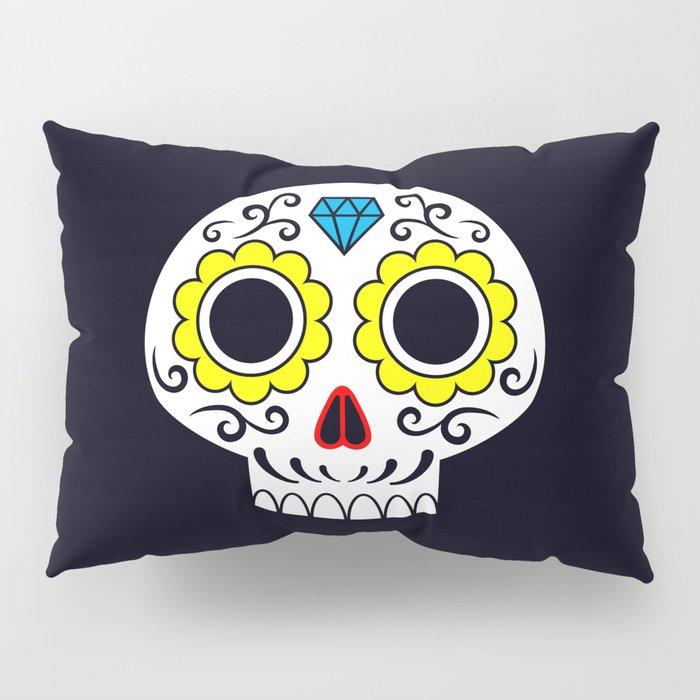Sugar skull for a cake Pillow Sham