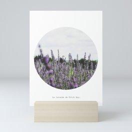 Fleurs sauvages Mini Art Print