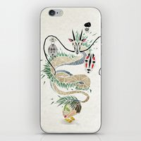spirited away iPhone & iPod Skins featuring spirited away by Manoou