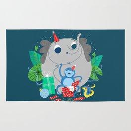 Monkey Birthday Gifts Rug