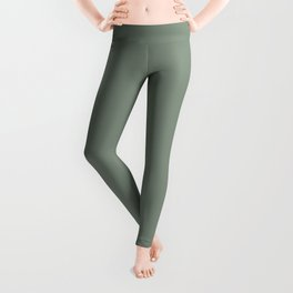 Green Pantone #839182 Leggings