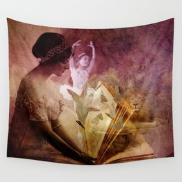 All of her days are written in His Book. Wall Tapestry