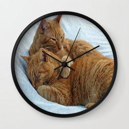 Brotherly Love Wall Clock