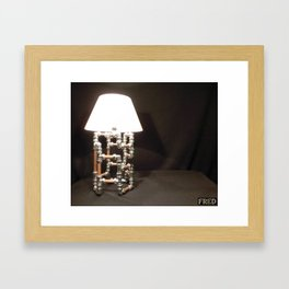 Articulated Desk Lamps - Copper and Chrome Collection - FredPereiraStudios_Page_13 Framed Art Print