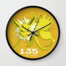 Pkmn #135: Jolteon Wall Clock