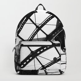 B&W Domed Roof Backpack