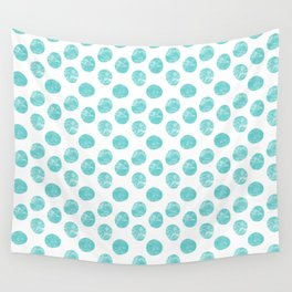 Pallini light turquoise green Wall Tapestry