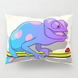 Colorblind chameleon Pillow Sham