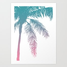 Palm Tree 07 (No.1) Art Print