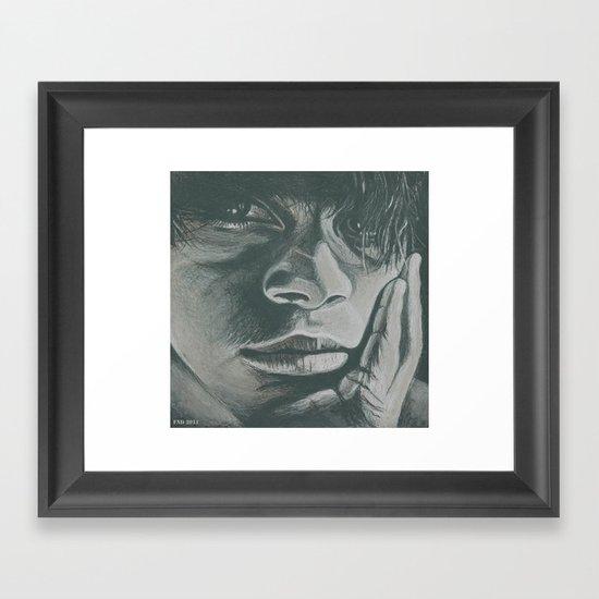 pensar! Framed Art Print