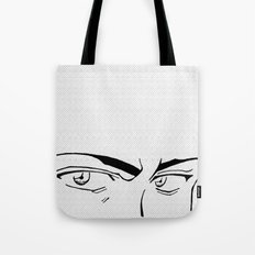 Doubt eyes Tote Bag