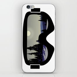 Morning Goggles iPhone Skin