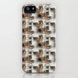 Battery Mishler Power Hoist lower section pattern iPhone Case