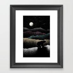 Wandering Bear Framed Art Print
