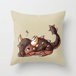 Prickly Mood Throw Pillow